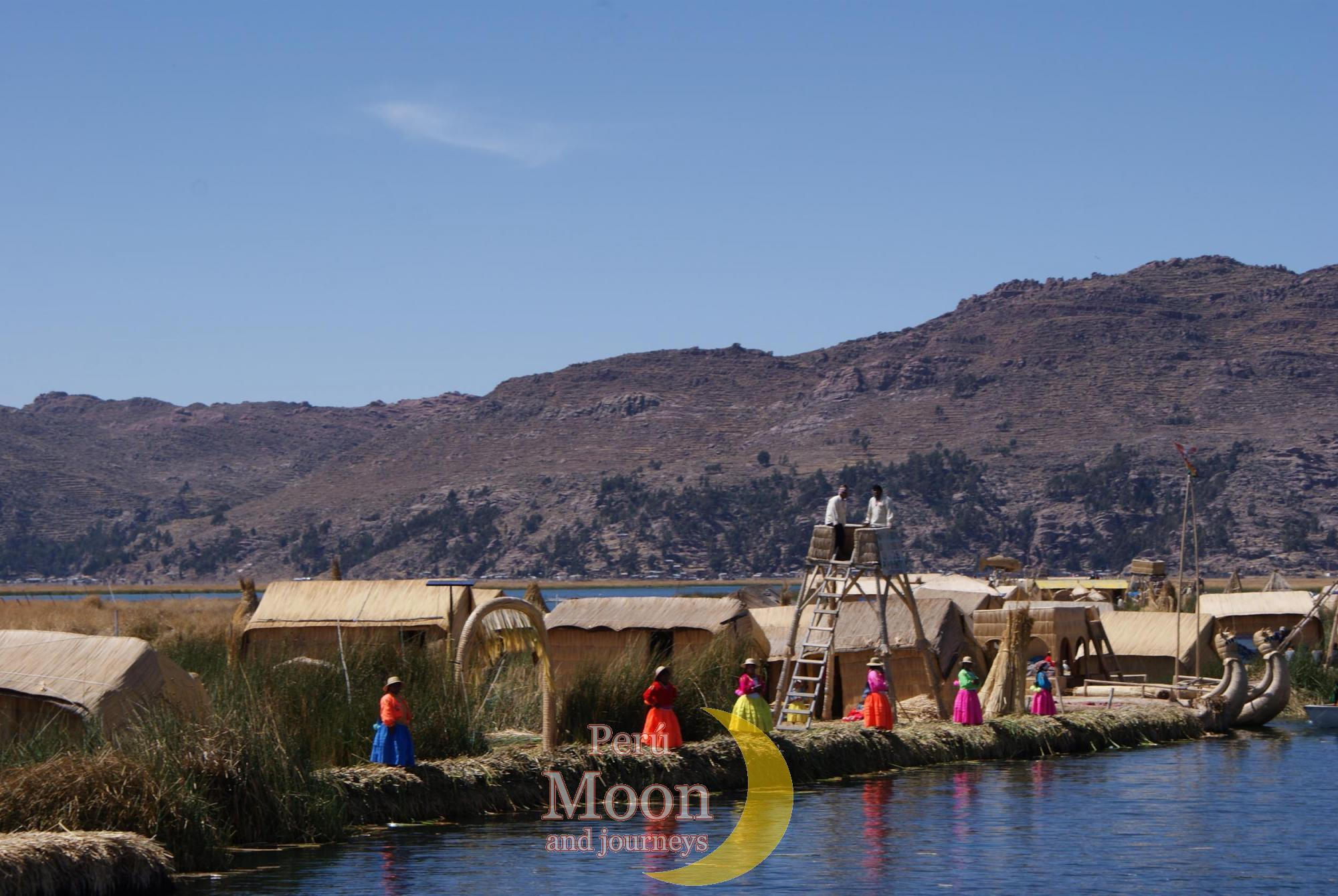 floating islands of Uros